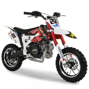 Cobra 4S 50cc 62cm Red Kids Mini Dirt Bike
