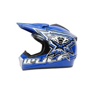 Wulfsport Cub Crossflite Helmet Blue