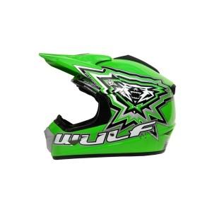 Wulfsport Cub Crossflite Helmet Green