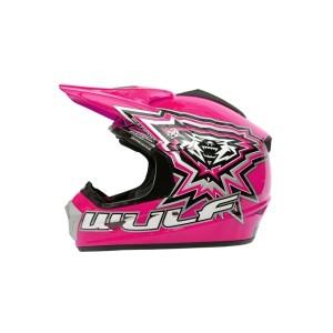 Wulfsport Cub Crossflite Helmet Pink
