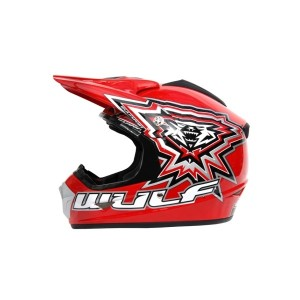 Wulfsport Cub Crossflite Helmet Red