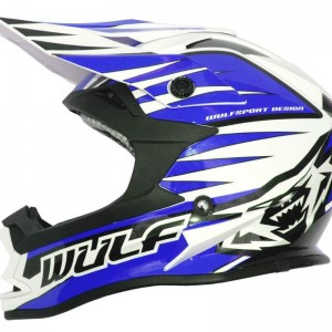 Wulfsport Advance Helmet Blue