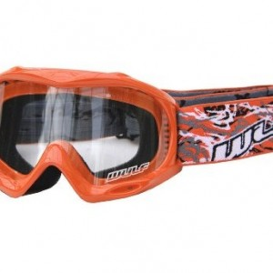 Wulfsport Cub Abstract Goggles Orange