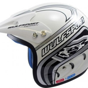 Wulfsport Air-Flo Plus Trails Helmet White