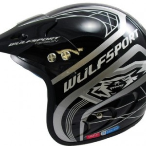 Wulfsport Air-Pro Plus Trials Helmet Black