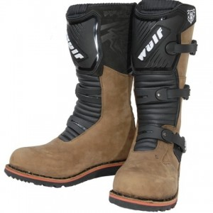Wulfsport Trials Boots Brown