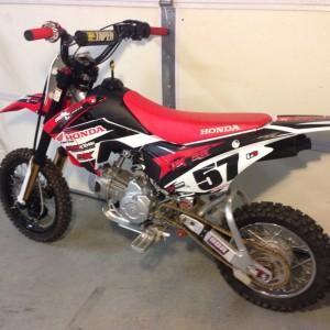 HONDA CRF 110cc – 2014