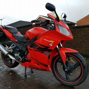 2014 DAELIM ROAD WIN R 125cc